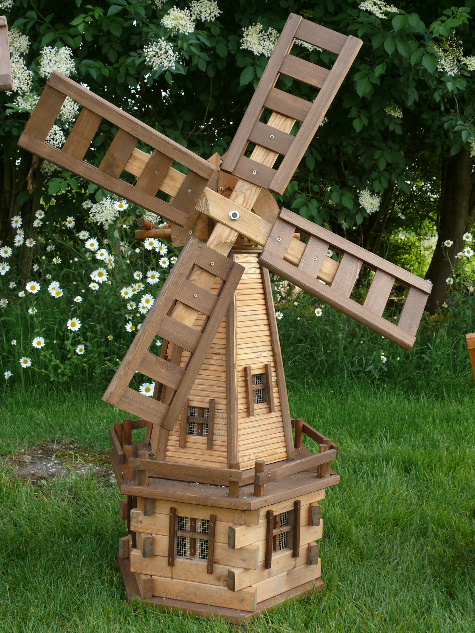 Windmills Garden Ornaments Handmade Wooden Products